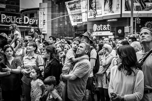 People at Times Square