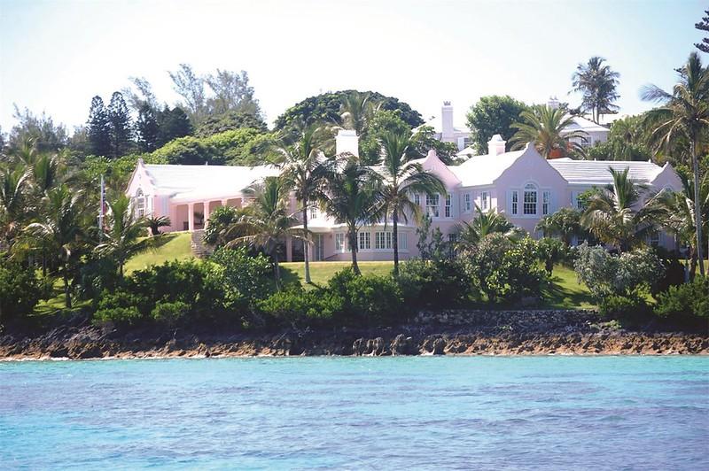 Вилла на Бермудах Pink Chimneys