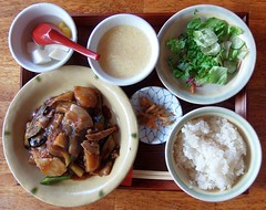 #5113 pork, eggplant (ナス), bell pepper (ピー…