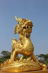Statue in der Zitadelle von Huê