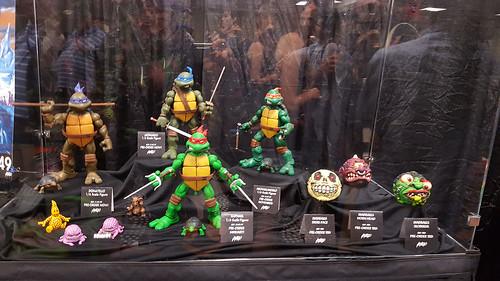 MondoCon 2015 :: Toy Display; TMNT 1/6 figures - Turtles & MADBALLS