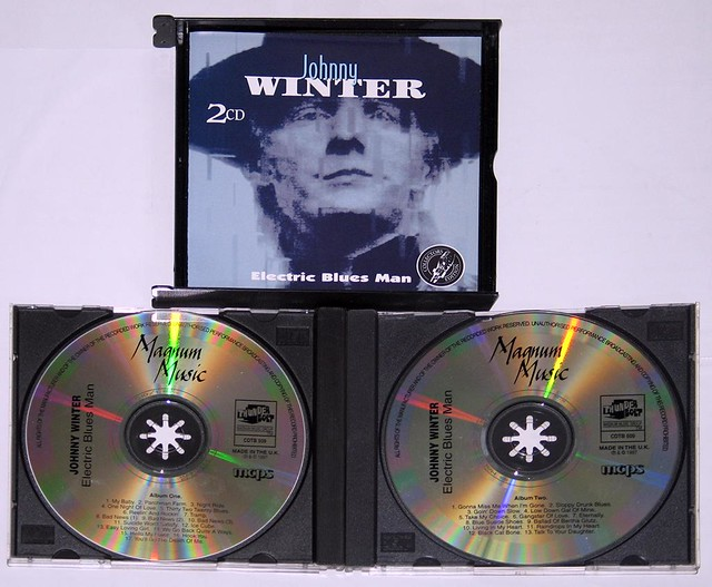 JOHNNY WINTER ELECTRIC BLUES MAN 2-CD BOX-SET