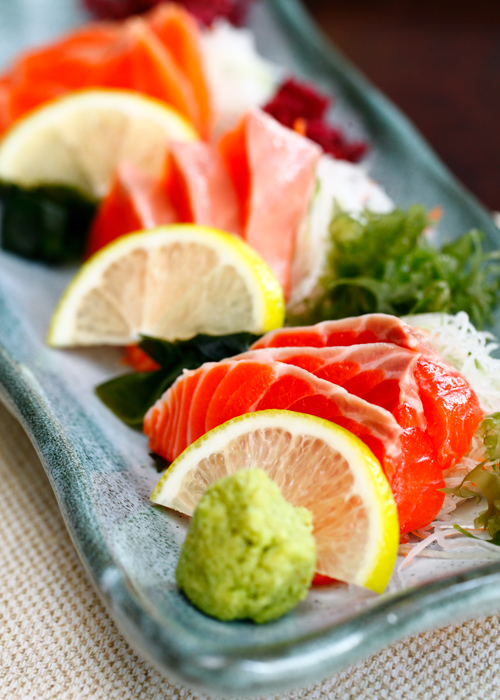 Minori Salmon Sashimi