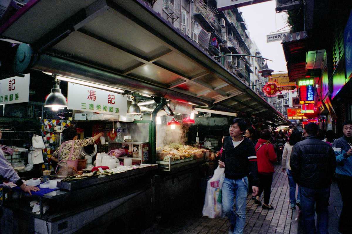 Macau snaps