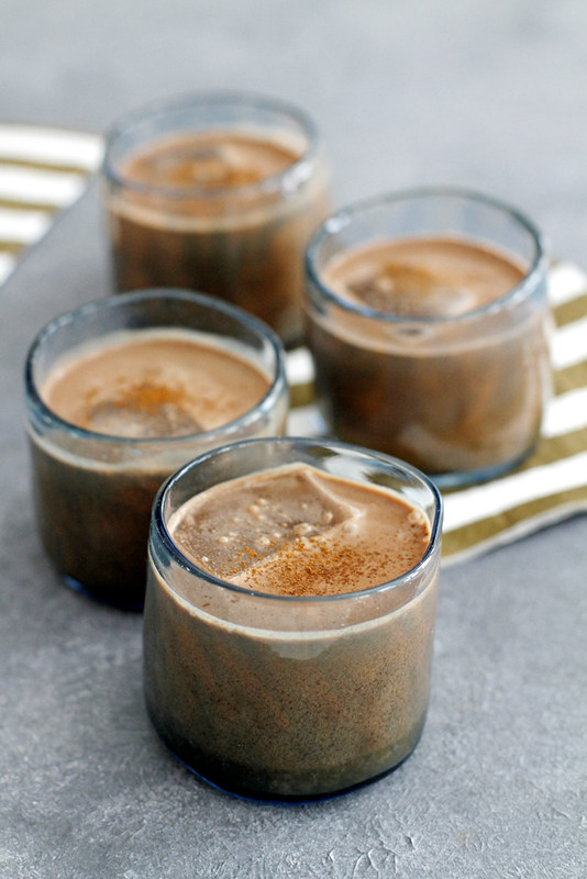 Boozy Chocolate Horchata | girlversusdough.com @girlversusdough