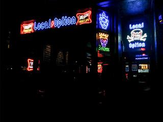 Local Option neon