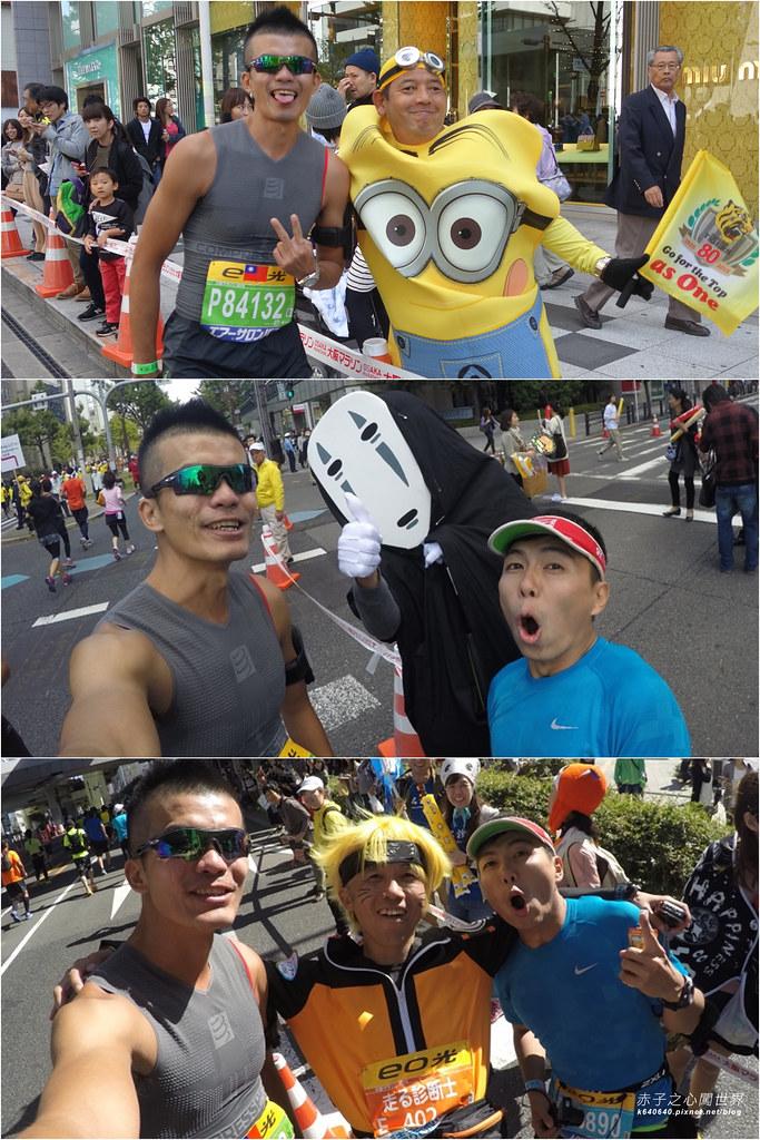 拼圖-大阪馬拉松-變裝加油隊