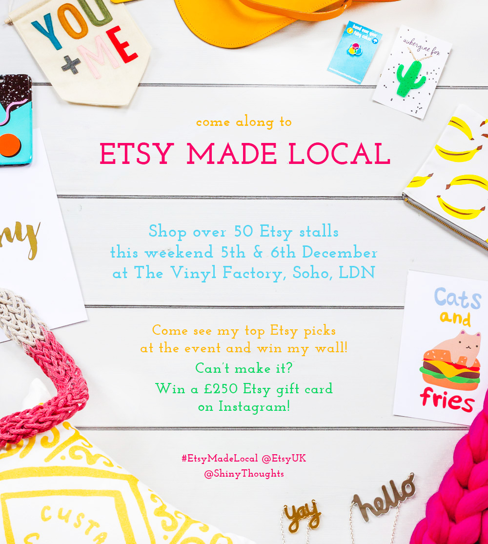 etsy made local event london shinythoughts