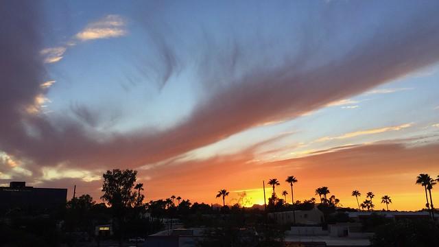 Sunset swirl 🌀