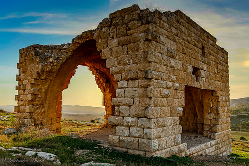 sunset architecture landscape israel desert negev hdr goldenhour
