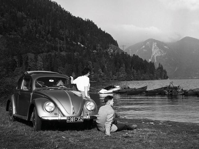 Volkswagen Käfer 1100 (Typ 11). 1949 – 1953 годы
