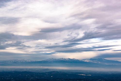 Mt. Bandai, Mt. Adatara, Mt. Azuma.