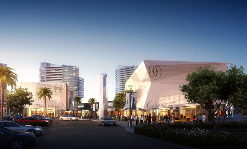 Penang Design Village Premium Outlet landscape (2)