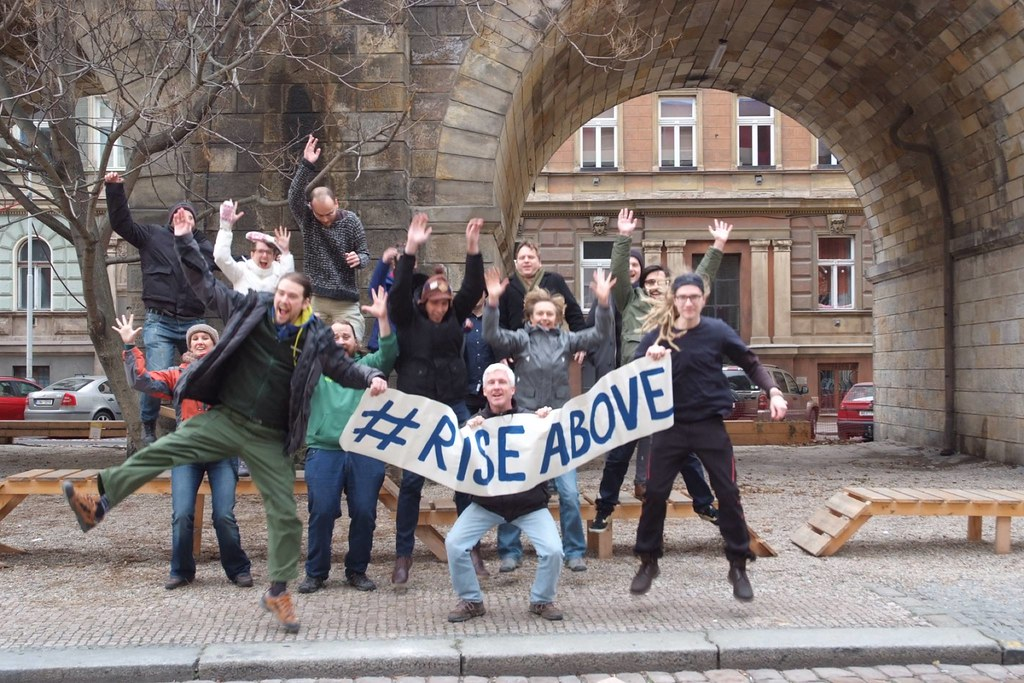 #RiseAbove climate injustice in Czech Republic