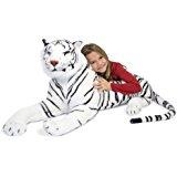 Melissa y Doug 13979 White Tiger Plush Toy