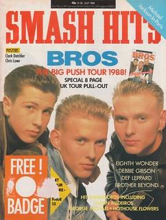 Smash Hits, July 13, 1988