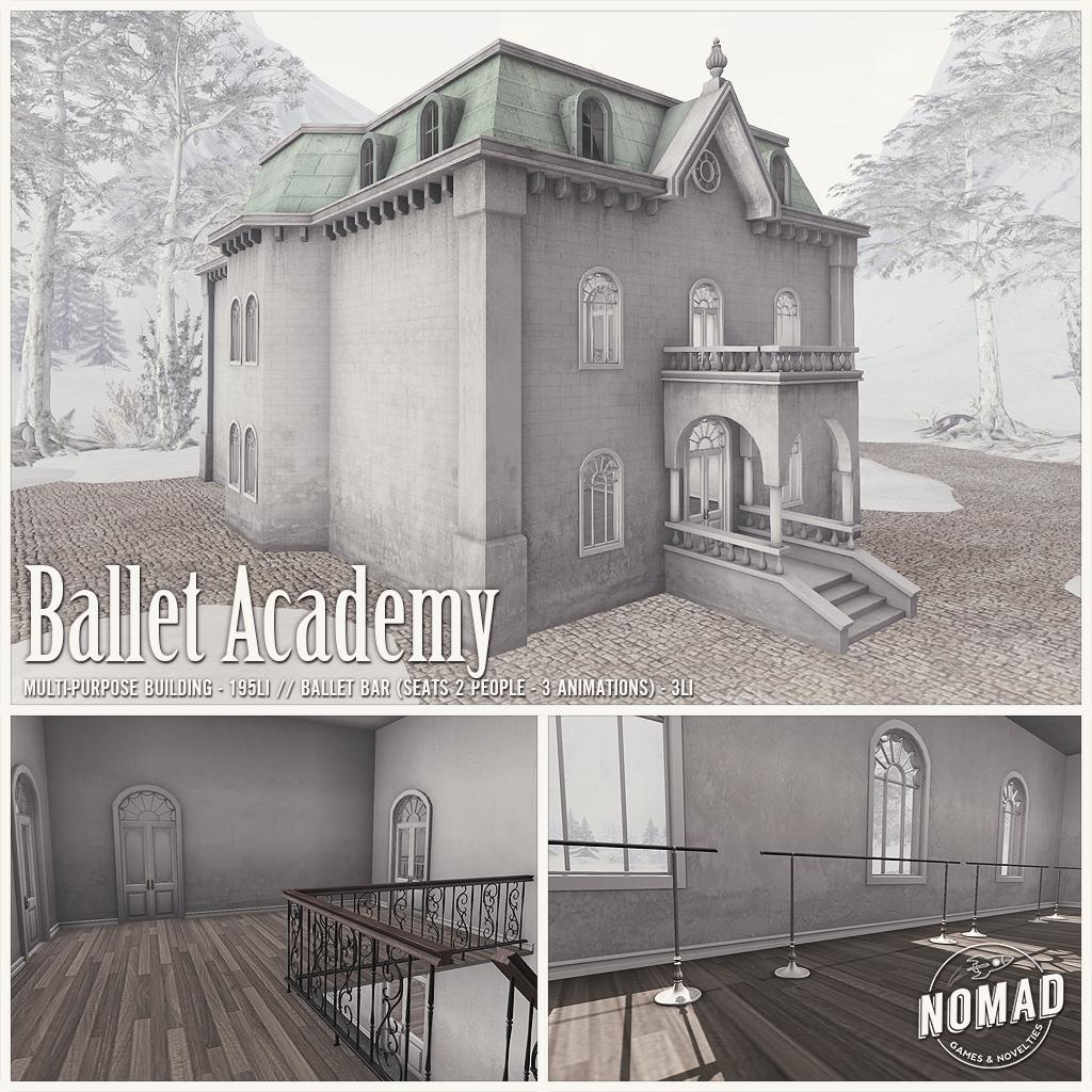 NOMAD // Ballet Academy - SecondLifeHub.com