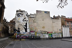 'Grafitti' Place Igor Stravinsky Paris
