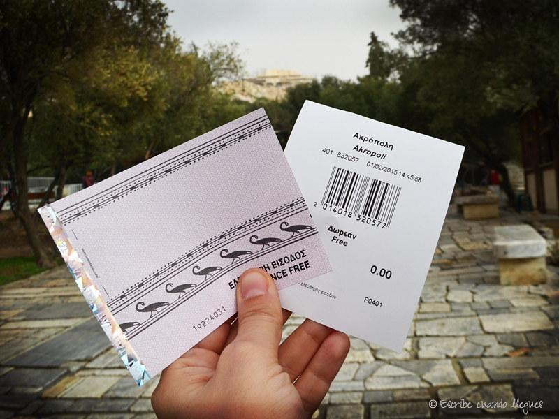 Infórmate de cómo y dónde comprar las entradas de acceso a la Acrópolis de Atenas al mejor precio