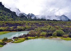PURACE, COLOMBIA - San Juan sulphur springs/ ПУРАСЕ, КОЛУМБИЯ - серный источник Сан-Хуан