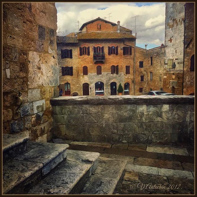 Old San Gimignano.