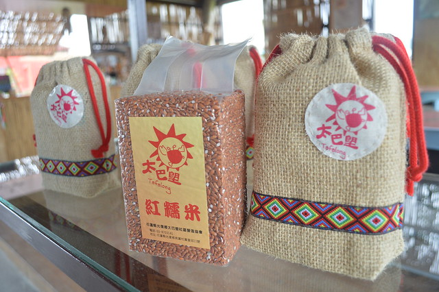 色香味美的紅糯米是部落珍饈,如今也是極具特色的農產。攝影:謝宗璋。