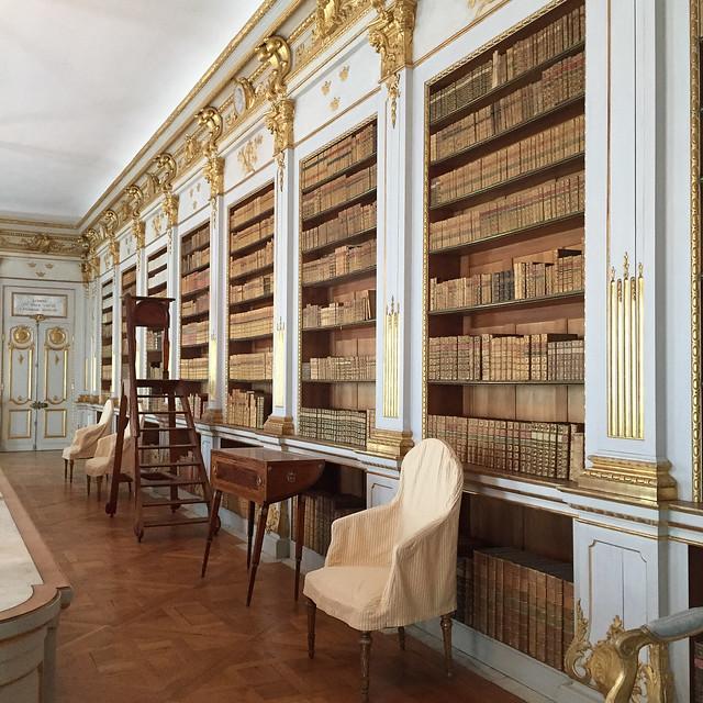 Drottningholm Palace library