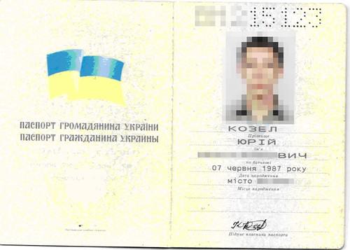 Паспорт Козел