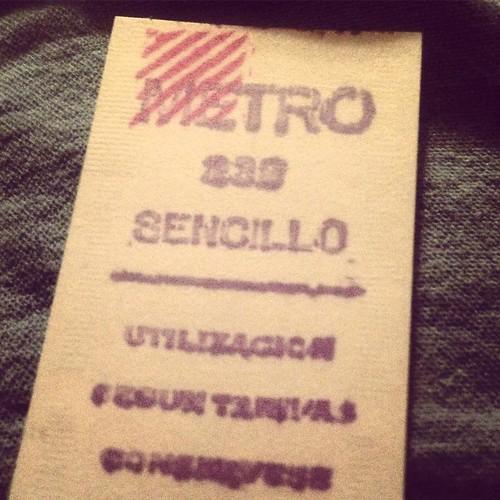 Metro sencillo #madrid #emt #metromadrid #80s