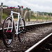 Bike On Tracks by seanwhitphoto