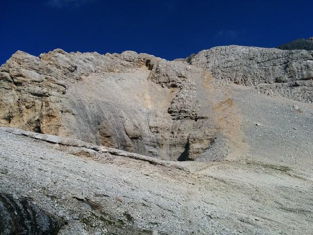 Aufstieg Lavarelascharte auf den La Varella