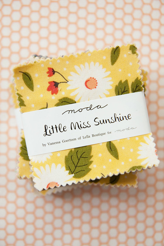 Little Miss Sunshine Mini Charm
