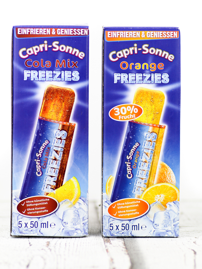 Degustabox August, Capri-Sonne Freezies