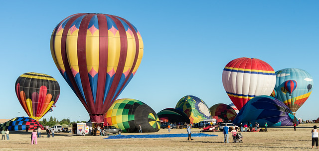 Balloon Festival at Prescott Valley 3