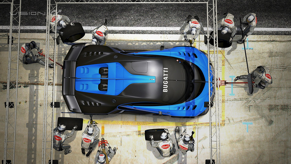 Bugatti Vision Gran Turismo Show Car Revealed at Frankfurt Motor Show