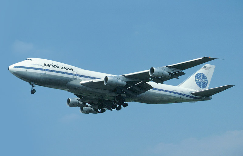 Pan Am Boeing 747-100 N653PA