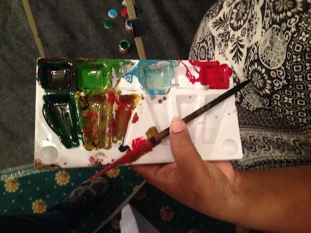 Palette - Berger Express Painting IndiBlogger Meet 2015 at The Oberoi Grand, Kolkata