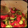 #Homemade #Zucchini and #Tomatoes #CucinaDelloZio - 1/2c white #wine