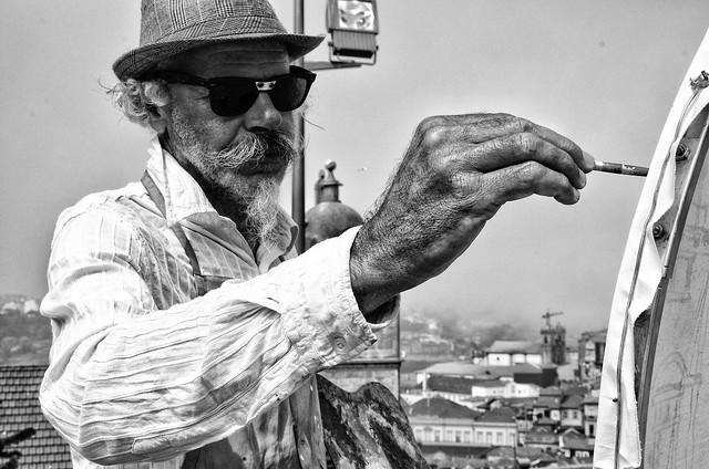 the street painter [Explored 09/21/2015]