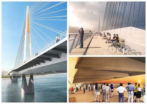 亞新工程 - 淡江大橋競圖提案