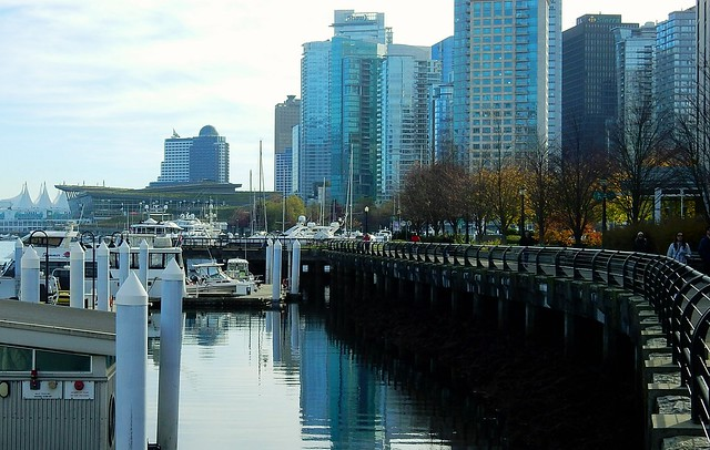 Towards Coal Harbour