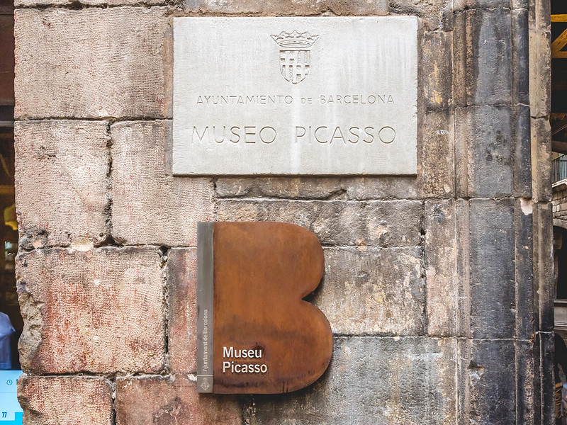 The Entrance to Museu Picasso