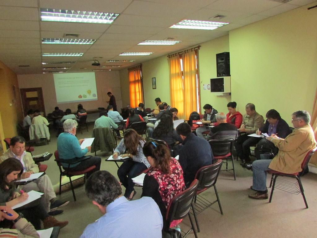 Segunda parte Diplomado de Dirigentes AFSAG en Santiago - 29 Octubre 2015