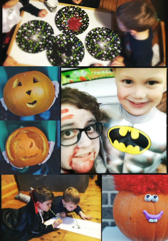spooky fun friends