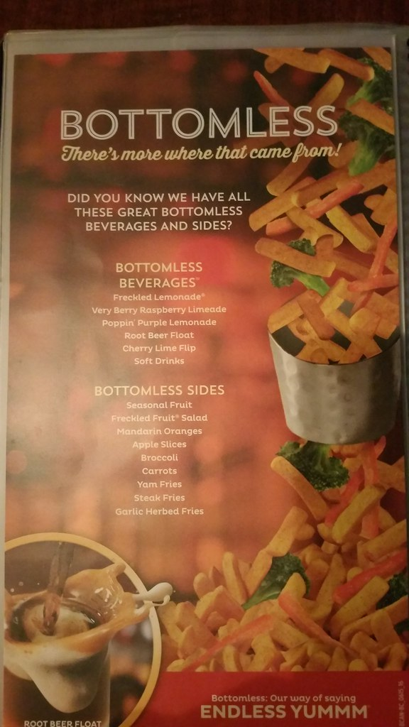 Red Robin bottomless options
