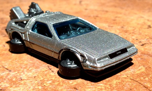 Hot Wheels 2015 - Hover mode DeLorean (Back to the Future)