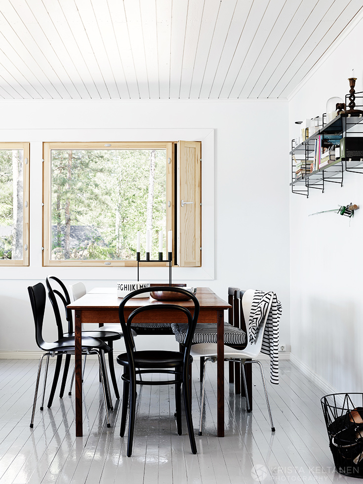 A Bright, White and Airy Scandinavian Home Design Photos