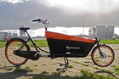 WorkCycles Kr8 Black Box Orange Rims 10