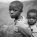 Being a kid in Rwanda, on the road to Ruhondo by monsieur I