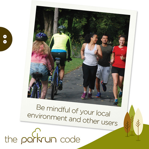 parkrun code Other people - Social Media